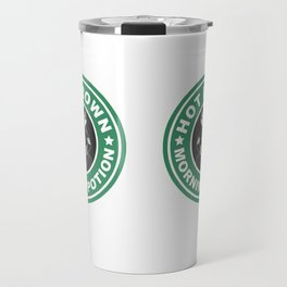 Hot Brown Morning Potion Travel Mug
