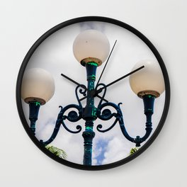 Island Metal Works Study: exhibit d Wall Clock