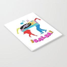 Salsa dance Notebook