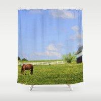 kentucky Shower Curtains featuring Kentucky by ThePhotoGuyDarren