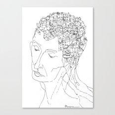 La Citta' Dentro Canvas Print