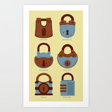 Evolution of Secrets Art Print