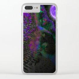 Otherworldly Garden Clear iPhone Case