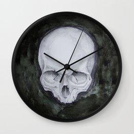skull study No.4 (aka - Paul) Wall Clock