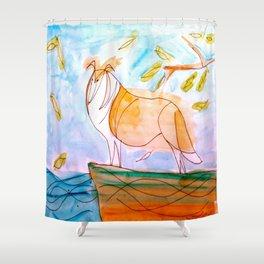 Collie2 Shower Curtain