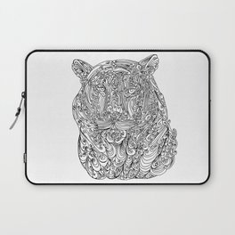 The power of the tiger Laptop Sleeve