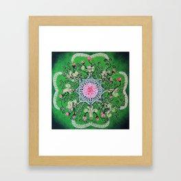 Rose tree / Roosipuu Framed Art Print