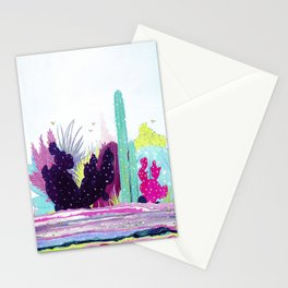 Cacti Watercolour Allsorts Stationery Cards