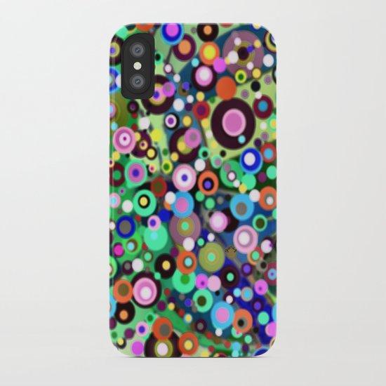 In Circles iPhone Case
