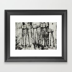Star Wars At-At Herd by Andy Walsh Framed Art Print