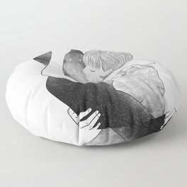 Feel me your world. Floor Pillow