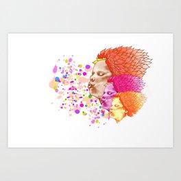 Spring Wind 2 Art Print