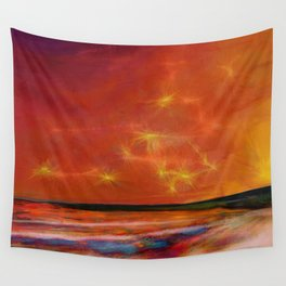 Sunrise-sunset Wall Tapestry