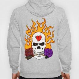 Anti Valentine Skull Hoody
