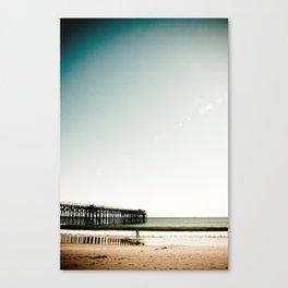 San Simeon Point Pier  Canvas Print