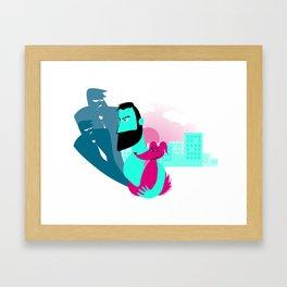 Normal Framed Art Print