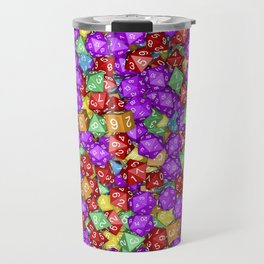 RPG Gamer Dice Travel Mug