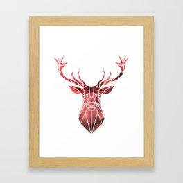 Deer Hunting T-Shirt. Perfect Costume Framed Art Print