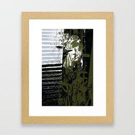 Behind the jade curtain Framed Art Print