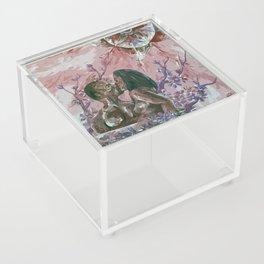 Cherry Blossom Moon Remix Acrylic Box