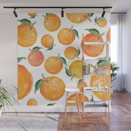 Rome Forest Oranges Wall Mural