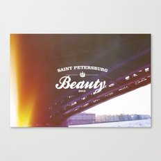 Beloved city Canvas Print
