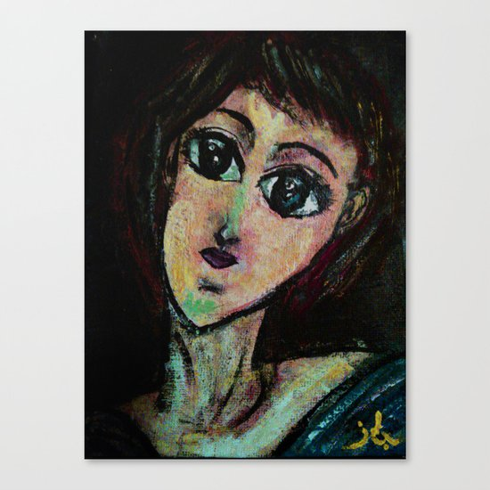 AWESOME GIRL Canvas Print