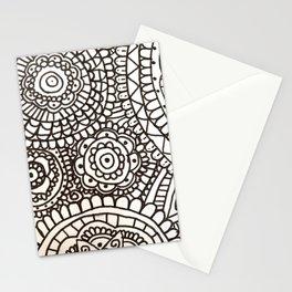 Mixed Patterns Mandala Stationery Cards
