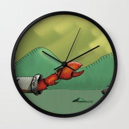 Acid Lake Wall Clock