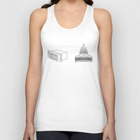 dc Tank Tops featuring Literal AC/DC by Phil Jones