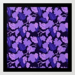 Garden Camouflage Art Print