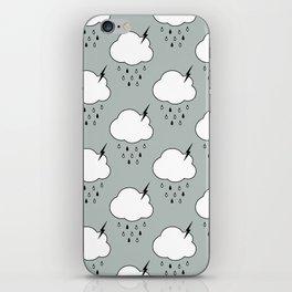 Storm Cloud iPhone Skin