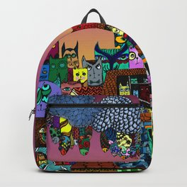 Cat's in the city Backpack