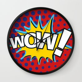 WoW! - MoM Wall Clock