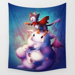 Cait Sith Wall Tapestry