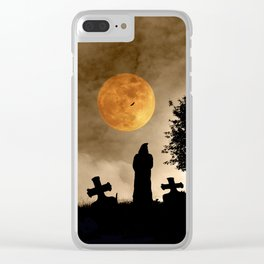 The old graveyard Clear iPhone Case