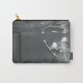 overwhelmed Carry-All Pouch