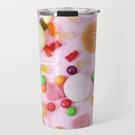 Pink Candy Travel Mug