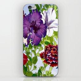 Dazzlin' Petunia Power iPhone Skin