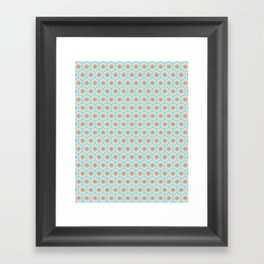 Patricia Pattern Framed Art Print