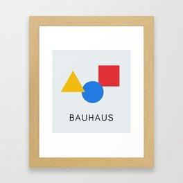 Bauhaus - Geometric Art Framed Art Print