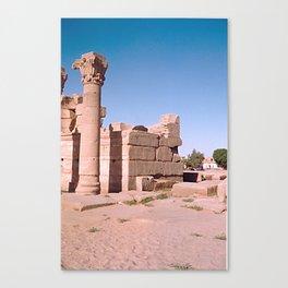 Temple of Dendera, no. 4 Canvas Print
