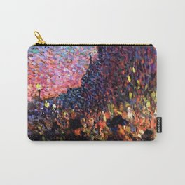 Paris Boulevard Masterpiece by Maximilian Luce Carry-All Pouch
