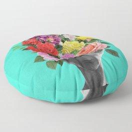 Alien Bouquet  Floor Pillow