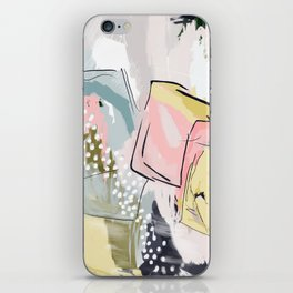 Dana Abstract Print iPhone Skin