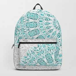 A Glittering Mandala Backpack