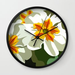 IMPATIENS 01. Wall Clock