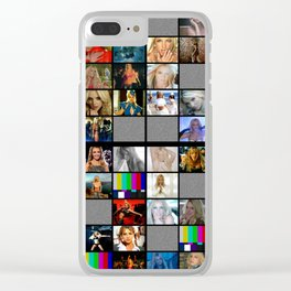 Britney Spears Music Videos Television Design  Las Vegas Planet Hollywood Britney : Piece of me Clear iPhone Case
