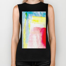Primary New Year Colors Biker Tank