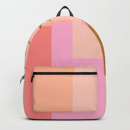 Pineapple and Geometry Backpack